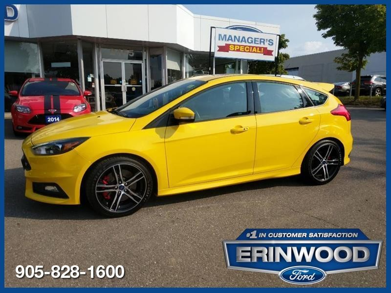2017 Ford Focus St Cpo 24m 2 9 20 000km Ext Warranty