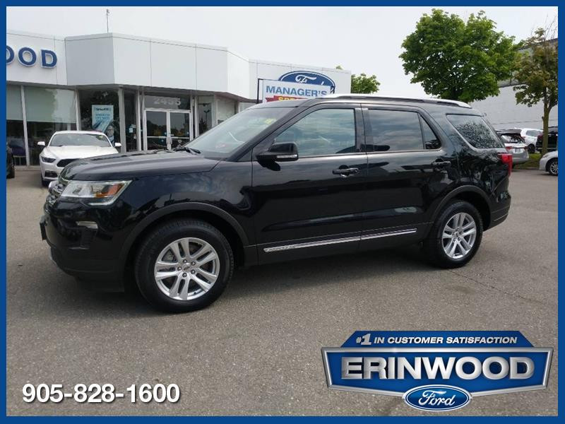 2018 Ford Explorer XLT - CPO 24M @2.9-20,000KM EXT WARRANTY