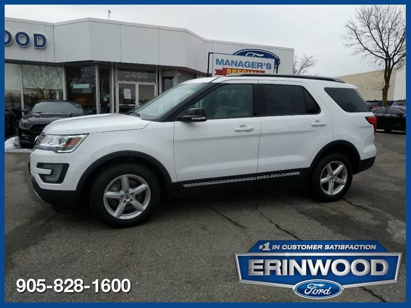 2017 Ford Explorer XLT - CPO 24M @2.9-20,000KM EXT WARRANTY