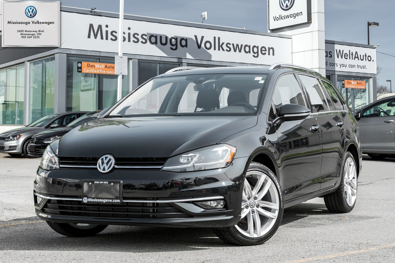 2018 Volkswagen Golf SportWagen 1.8 TSI Highline/DRIVER ASST/LIGHT PKG/LOADED