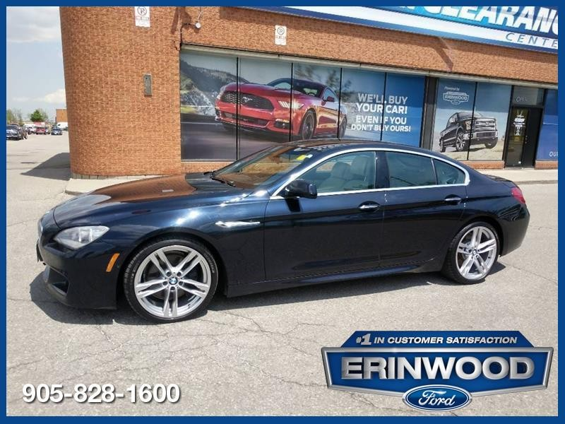 2013 BMW 650i 650i xDrive - Gran Coupe M-Sport / Pano Roof / Navi / 360 Cam
