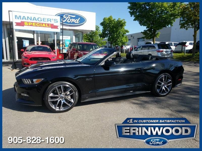 2015 Ford Mustang GT - 5.0L V8/6SPD MANUAL/LTHR/NAV/REV CAM