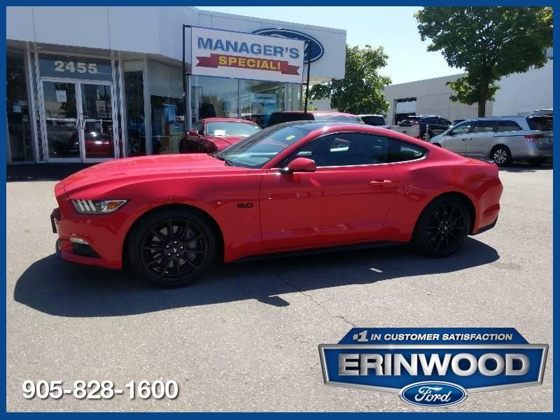 2016 Ford Mustang GT Premium - CPO 24M @2.9-20,000KM EXT WARRANTY