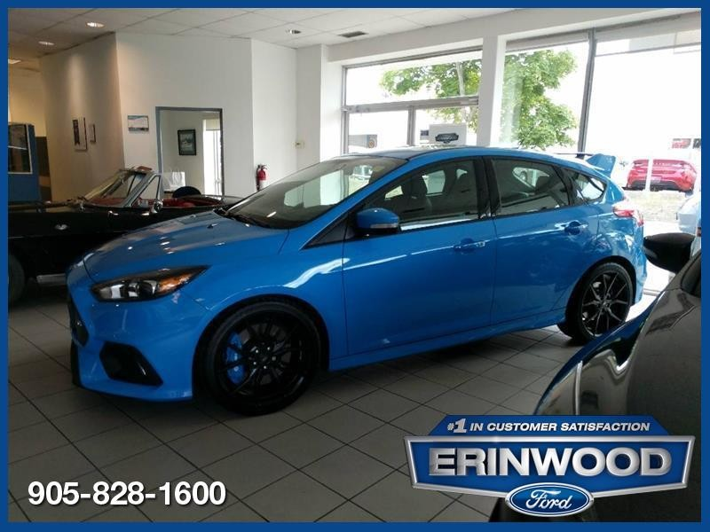 2017 Ford Focus RS - 2.3L ECOBOOST/6SPD MANUAL/RECARO SEATS