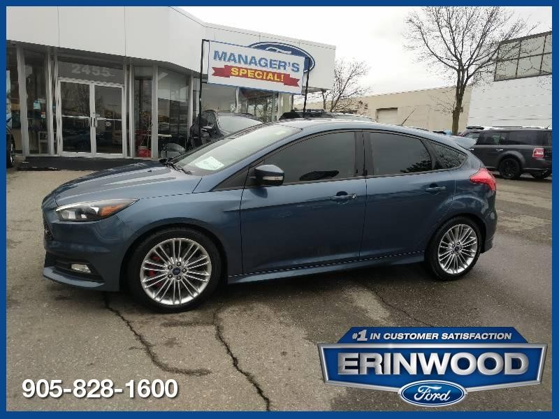2018 Ford Focus ST - CPO 24M @2.9-20,000KM EXT WARRANTY